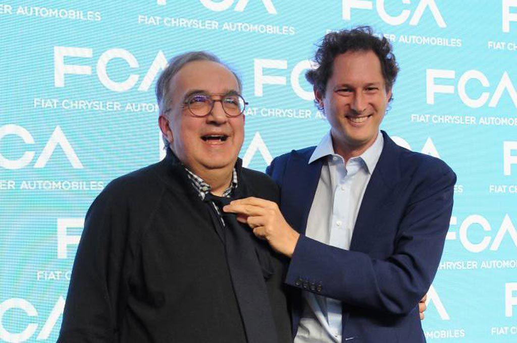 John Elkann y Sergio Marchionne