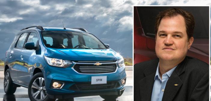 """Hermann Mahnke, MKT de Chevrolet: """"Por posicionamiento de precio no era factible ofrecer ESP en la Nueva Spin"""""""