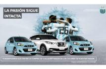 Promo Nissan Celeste y Blanco