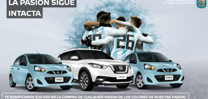 Argentina: Nissan bonifica $20 mil en la compra de cualquier modelo celeste o blanco