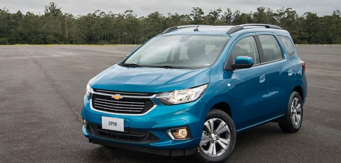 Chevrolet presentó la Nueva Spin que se lanza con precios desde $506.900
