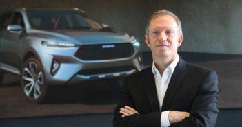La china Haval contrató como jefe de diseño a Phil Simmons, creador del Ford Fiesta y de los Range Rover Velar y Evoque