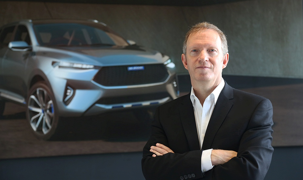 Phil Simmons, director de diseño de Haval