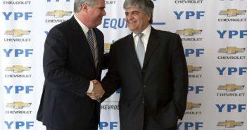 YPF y Chevrolet renovaron su alianza