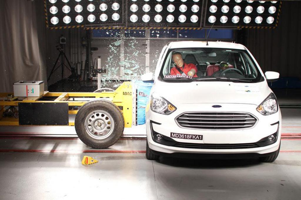 El Nuevo Ford Ka mejoró su calificación en los test de LatinNCAP