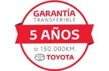 Toyota Garantia de 5 años