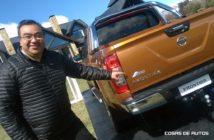 Ricardo Rodríguez junto a la Frontier argentina