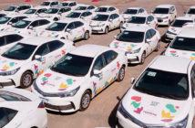 Toyota es socio olímpico y prestó 338 unidades para Buenos Aires 2018