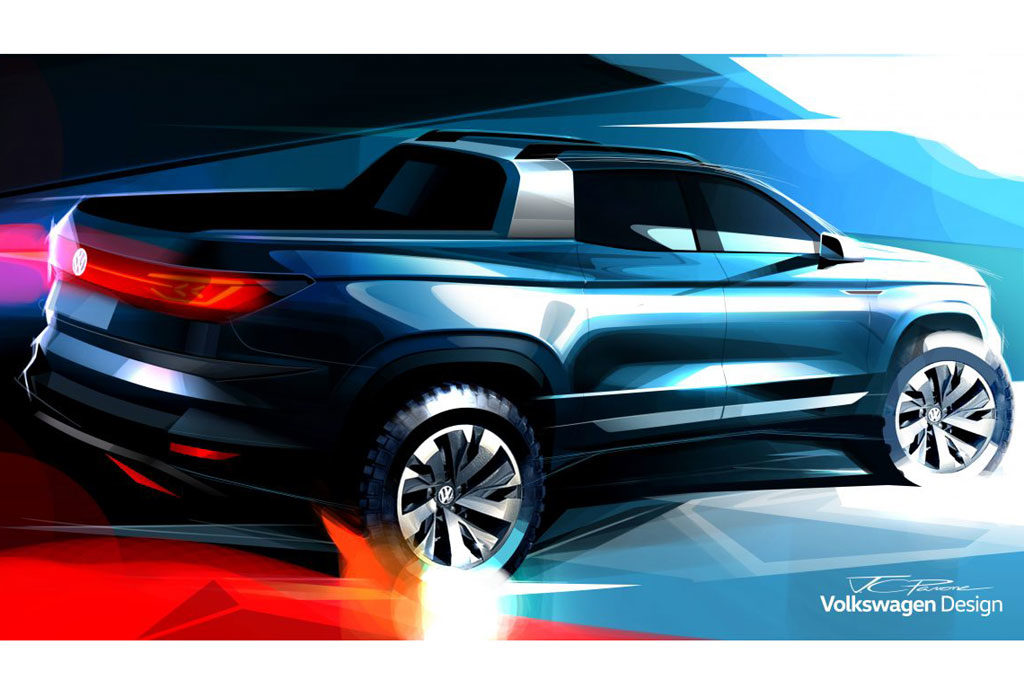 VW Tarok sketch