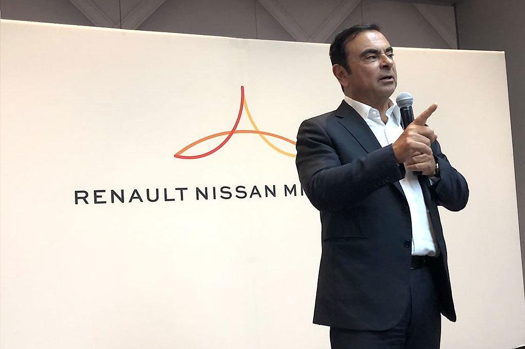 Carlos Ghosn Alianza Nissan Renault