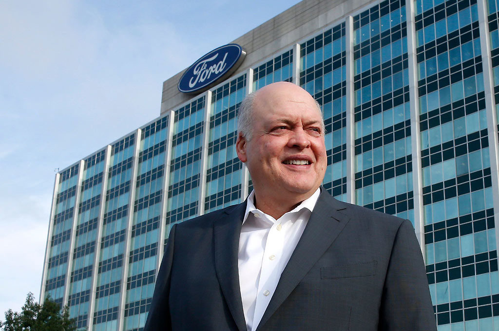 Jim Hackett, presidente ejecutivo de Ford Motor Co.