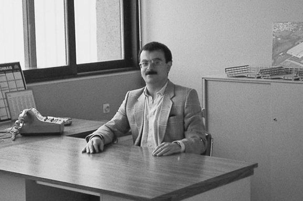 Carlos Ghosn en los años 80