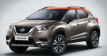 Nissan presentó en India un Kicks más grande