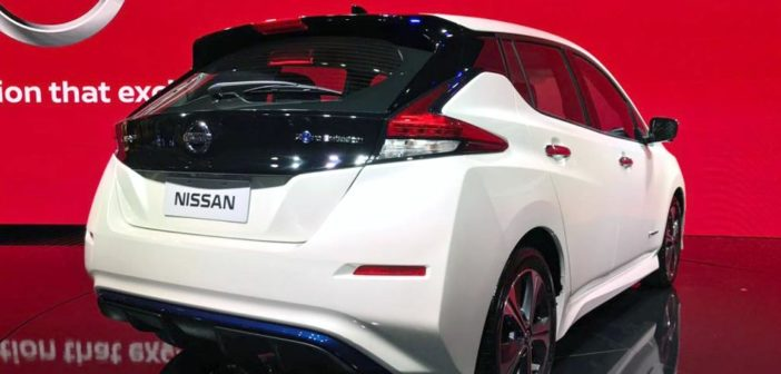 Salón de San Pablo: el Nissan Leaf se acerca a la Argentina