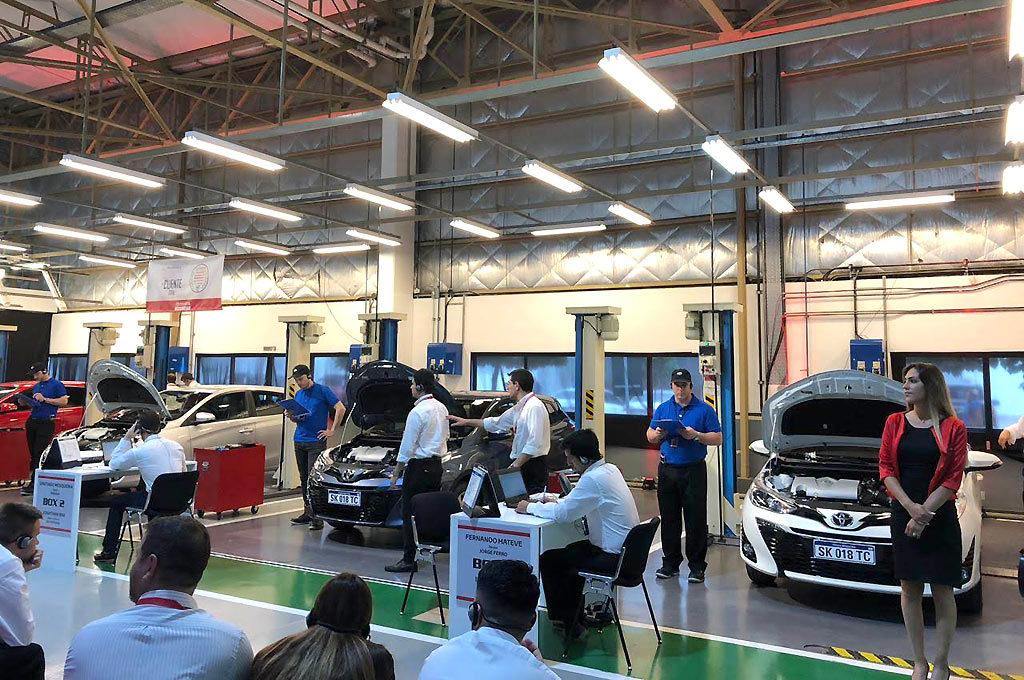 Toyota Habilidades 2018