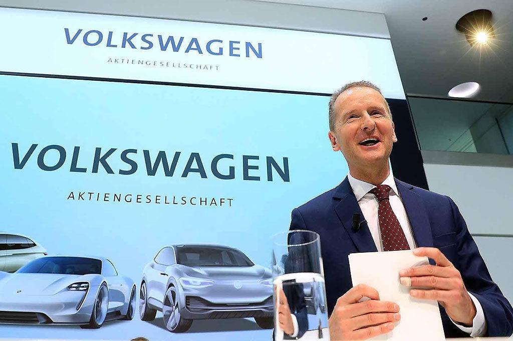 Herbert Diess, presidente ejecutivo de VW AG.
