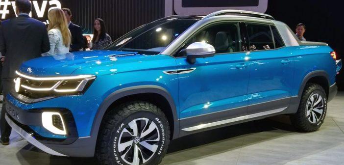 Salón de San Pablo: VW mostró cómo será la Tarok, su próxima pick-up