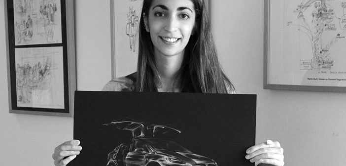 Yamila Zabaljauregui, el mundo de los autos hecho arte y visto con ojos de mujer