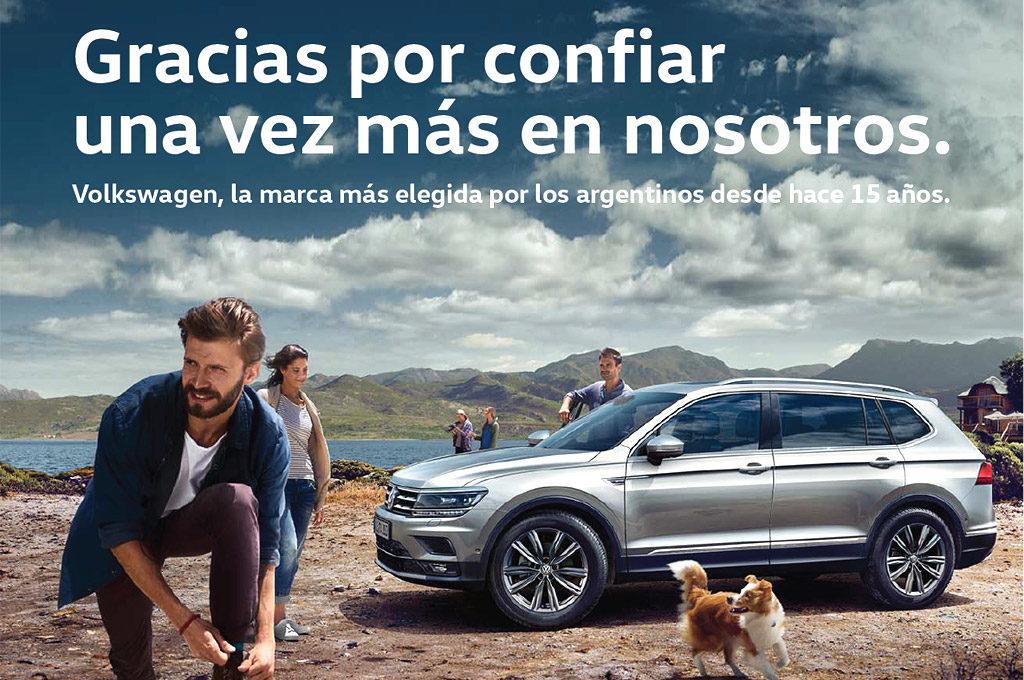VW Argentina líder 2018