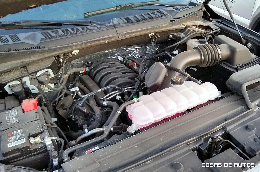 Motor V8 de la F-150