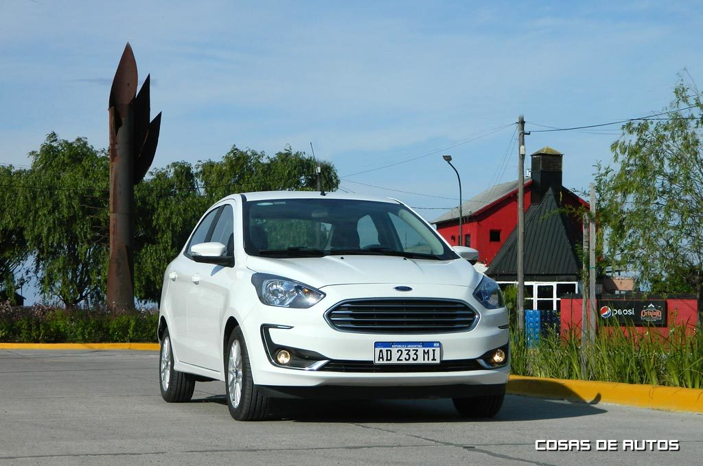 Test Ford Ka Sedan - Foto: Cosas de Autos