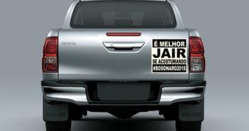Toyota Hilux - Bolsonaro