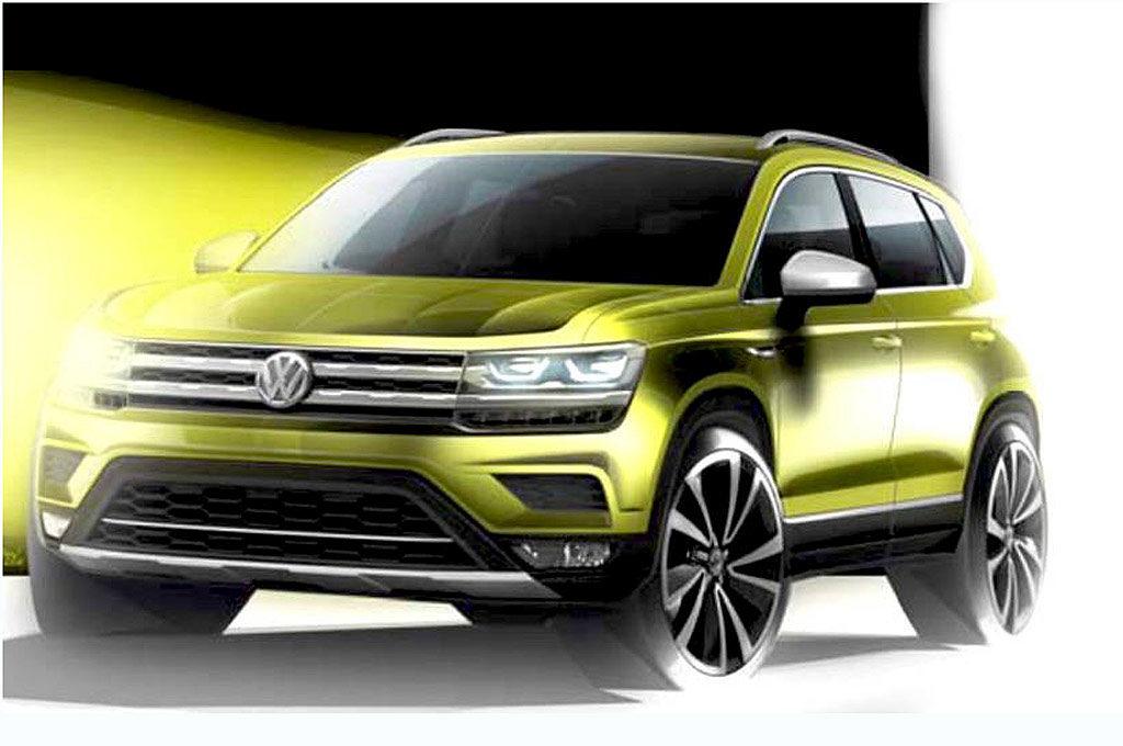VW Tarek teaser