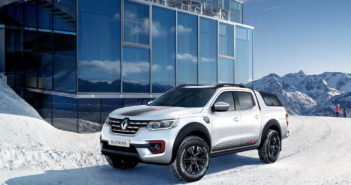 Renault Alaskan Ice Edition