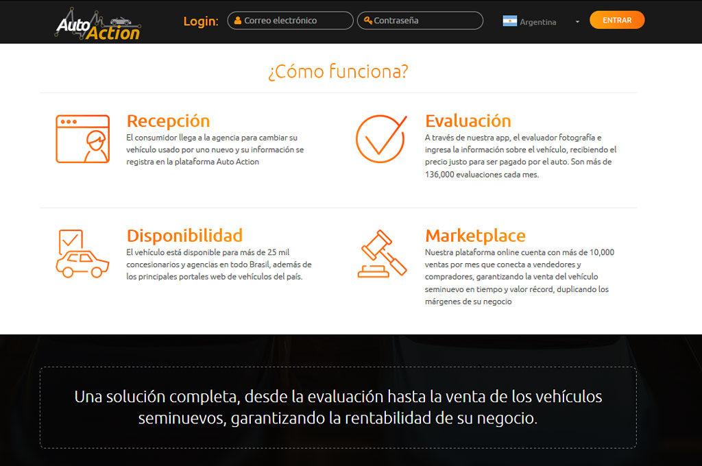 Auto Action inicia sus operaciones en Argentina