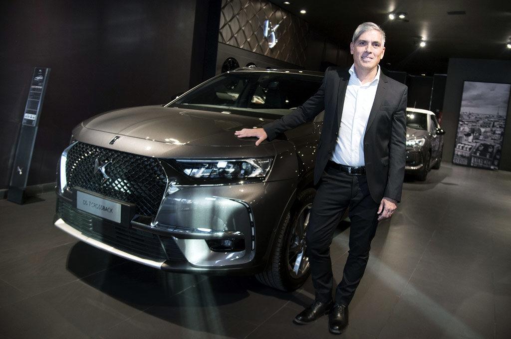 Gonzalo Cassina, director de DS Automobiles en Argentina