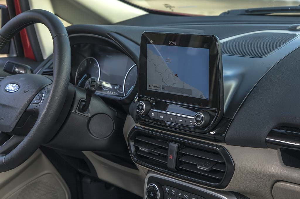 Ford EcoSport pantalla