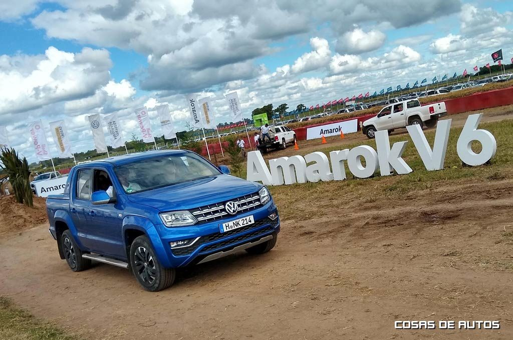 VW Amarok V6 258 CV en ExpoAgro