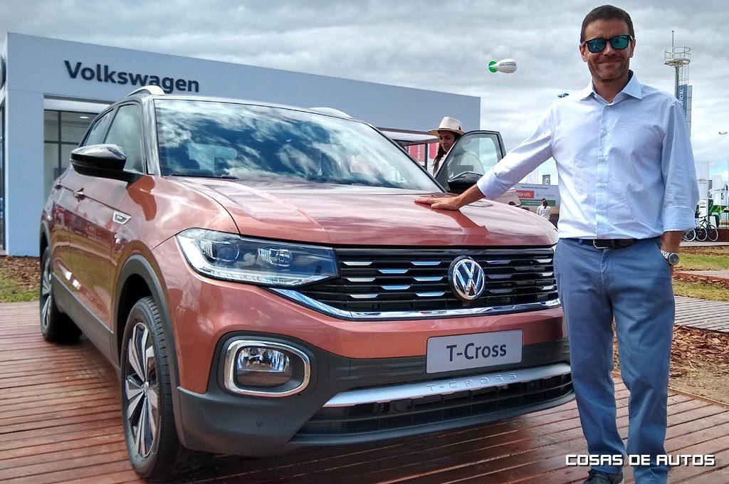 Martín Pepe Sorrondegui, gerente de Ventas de Volkswagen Argentina.