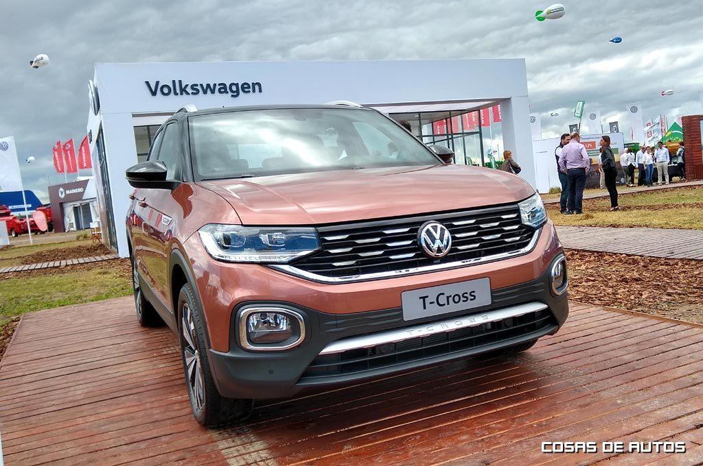 Volkswagen T-Cross en ExpoAgro