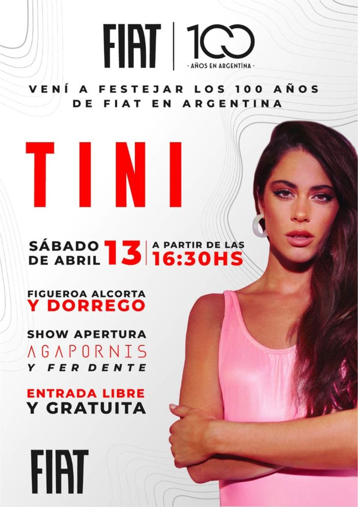 FIAT recital de Tini