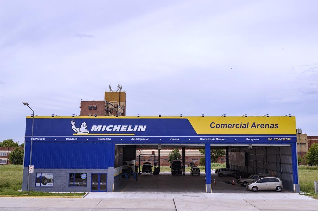 MICHELIN - Comercial Arenas