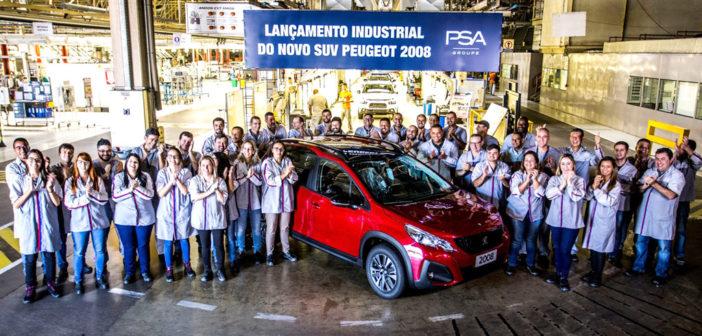 Brasil: arrancó la producción del Nuevo Peugeot 2008 que vendrá también a Argentina