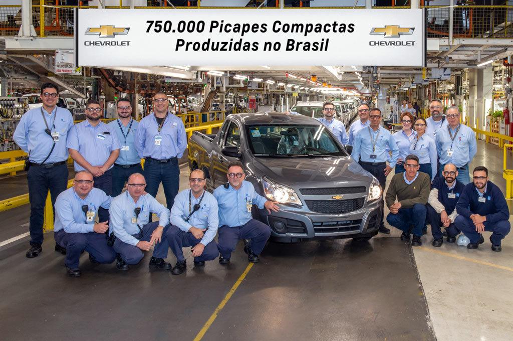 Chevrolet Montana 750 mil