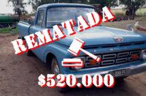 Ford F100 1964 rematada en La Pampa