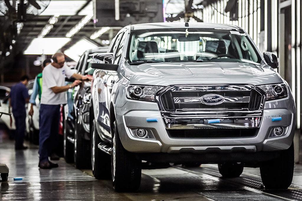 Planta de Ford Argentina en Pacheco