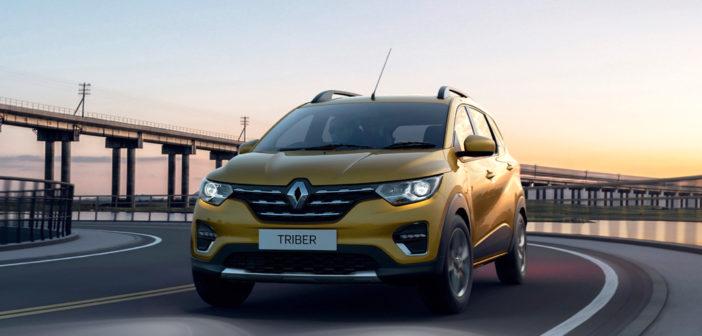 Así es el Renault Triber, la versión familiar de 7 plazas del Kwid