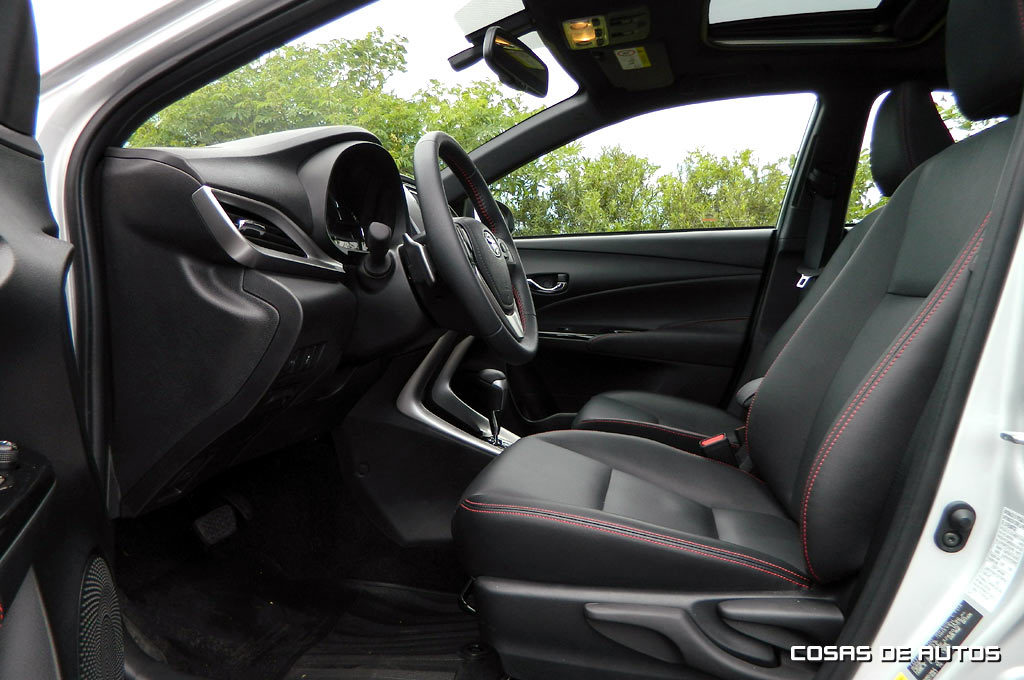 Test del Toyota Yaris hatch brasileño - Foto: Cosas de Autos