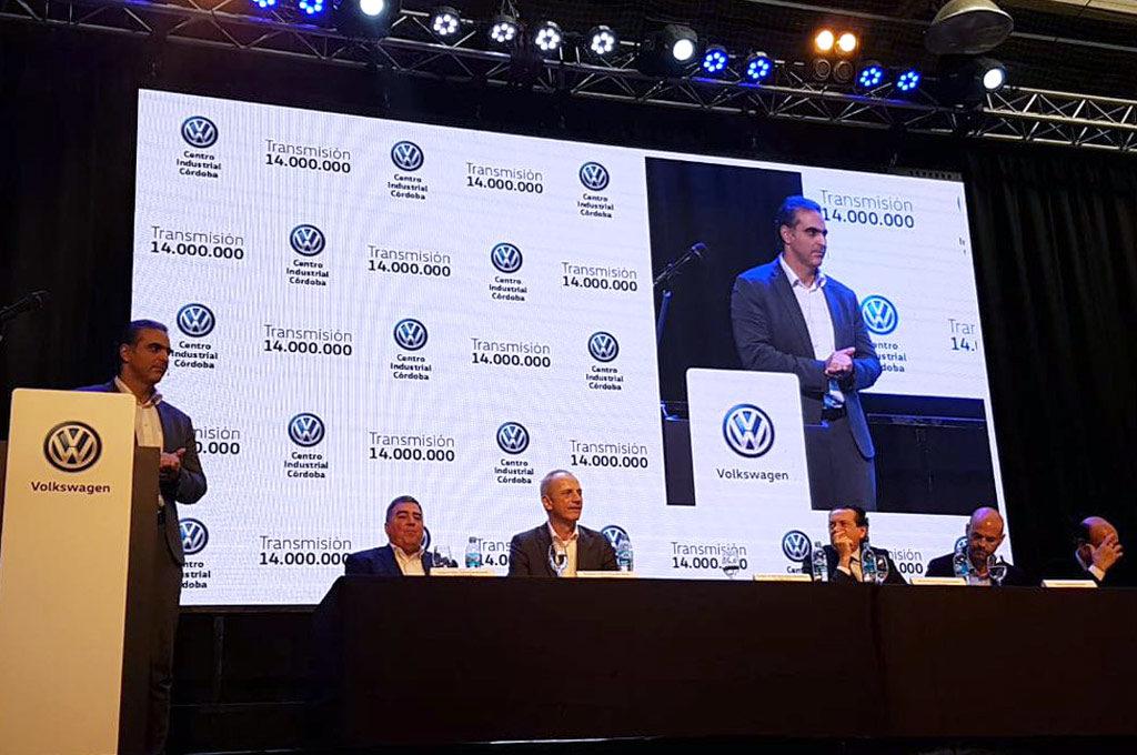 VW celebra 14 millones de unidades de cajas de velocidad producidas en Córdoba