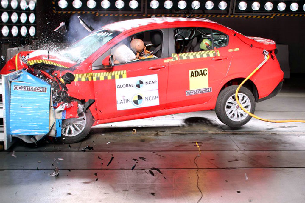 Fiat Cronos LatinNCAP