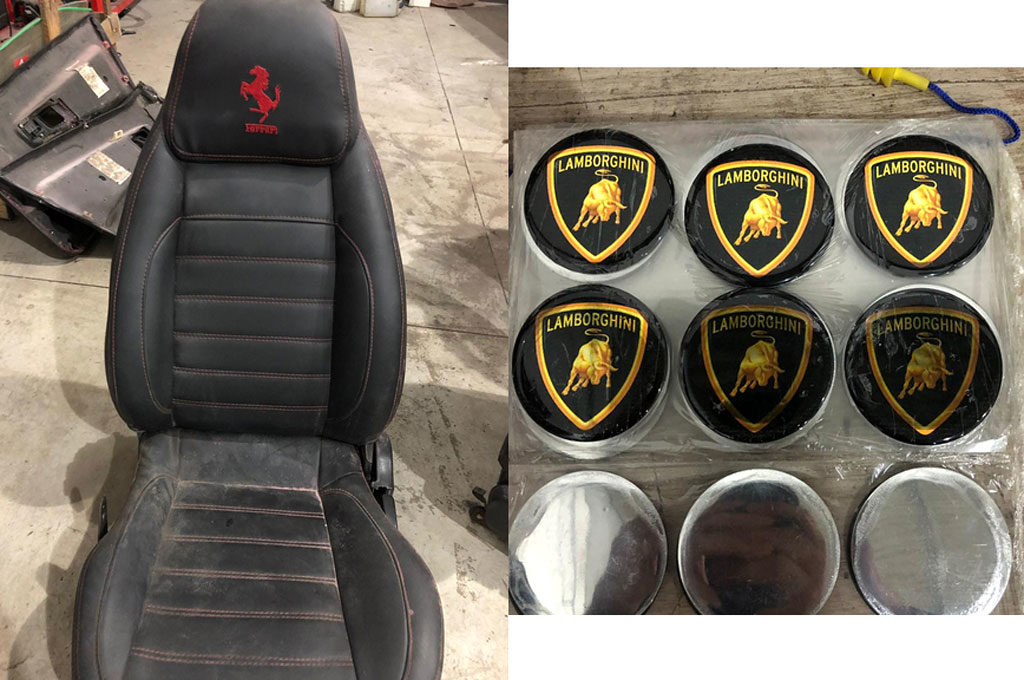 Ferrari y Lamborghini Truchos en Brasil