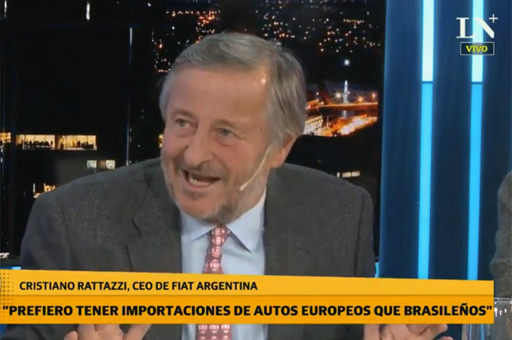 Cristiano Rattazzi, titular de FCA Automobiles Argentina