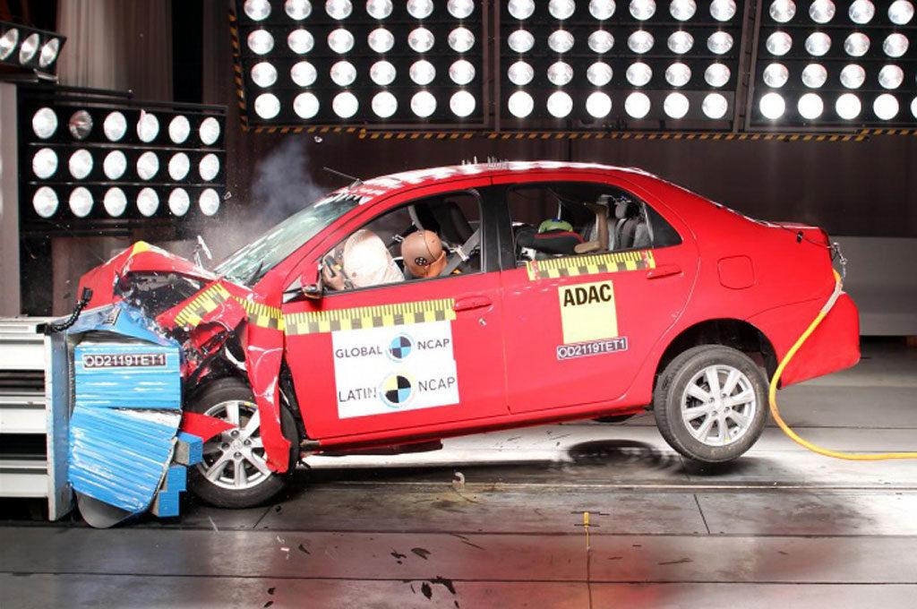 Toyota Etios Latin NCAP