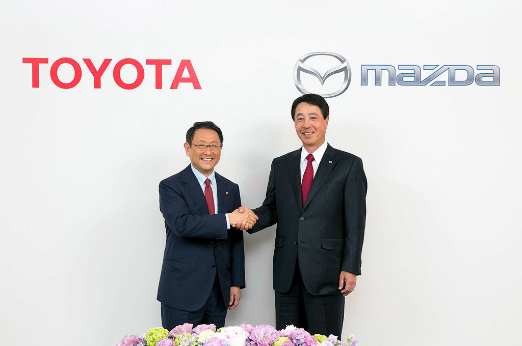Toyota y Mazda joint venture
