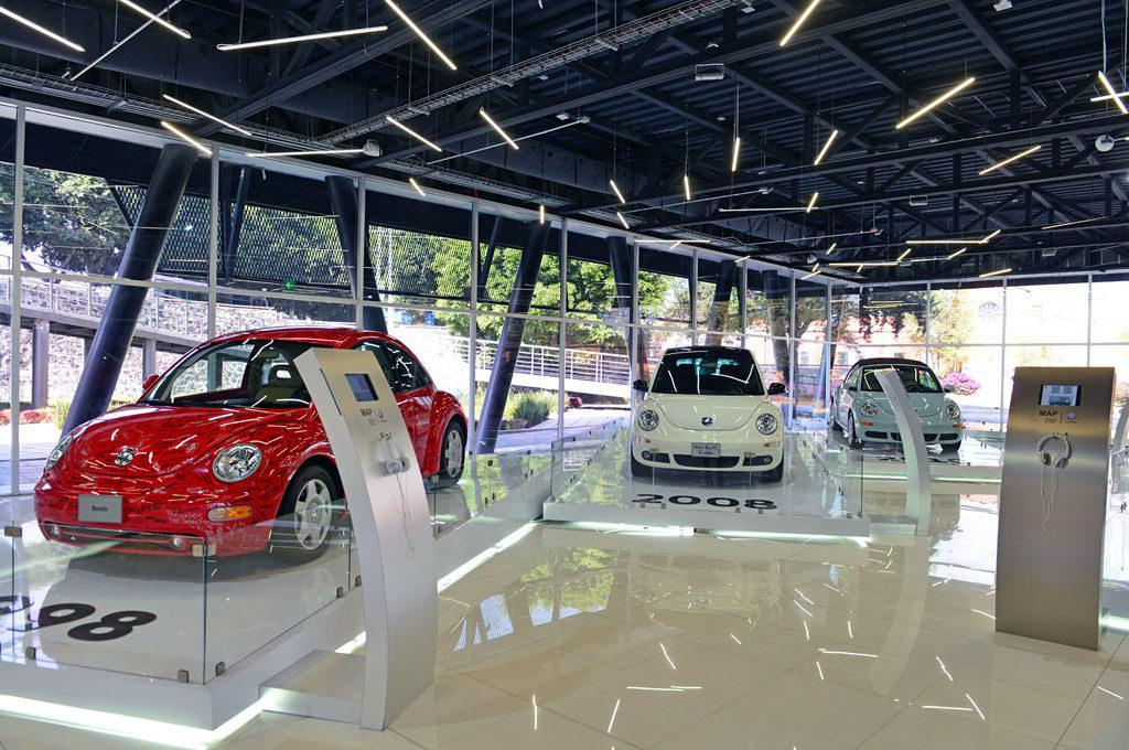 VW Beetle en el Museo del Automóvil de Puebla de México