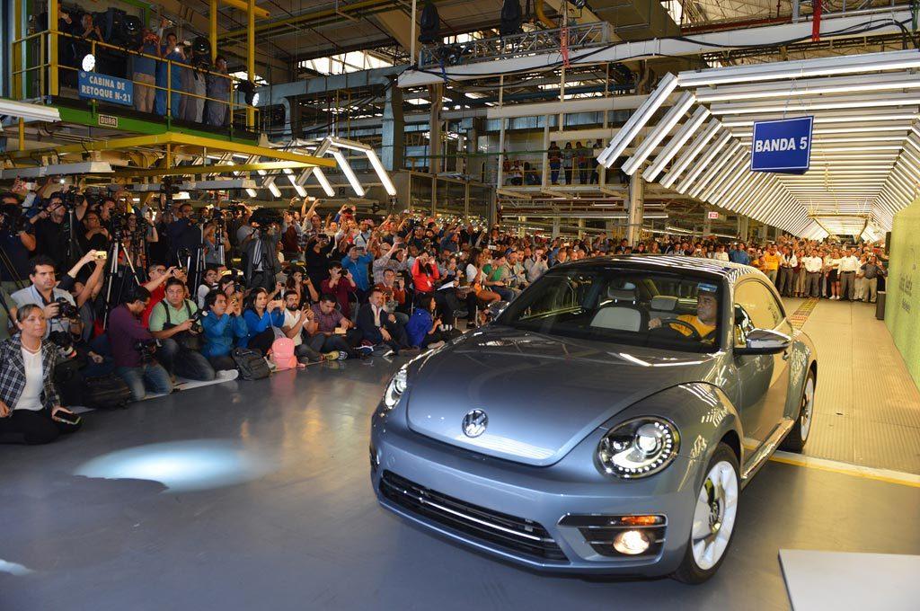 La última unidad del The Beetle se fabricó en Puebla, México